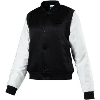 Blouson Puma zipp off sleeves bomber jkt black