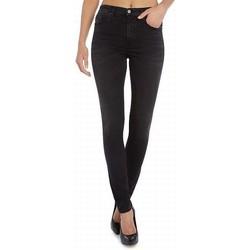 Vêtements Femme Jeans slim Diesel SKINZEE-HIGH 0846M Noir