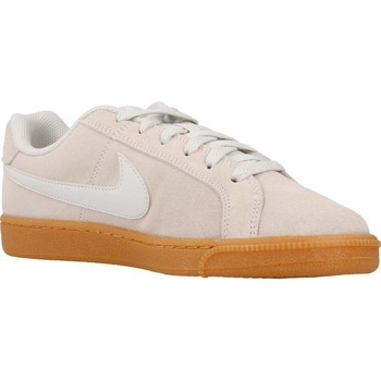 Chaussures Femme Baskets basses Nike COURT ROYALE SUEDE Gris