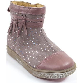 Chaussures Fille Bottines Babybotte Bottines  Fille rose AMBALABA rose