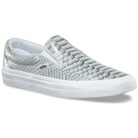 Chaussures Femme Baskets basses Vans Chaussures  U Classic Slip-On - Metallic Snake / True White Gris
