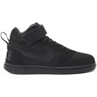 Chaussures Enfant Baskets montantes Nike Court Borough Mid Psv Noir