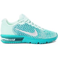 Chaussures Enfant Baskets basses Nike Air Max Sequent 2 GS Vert
