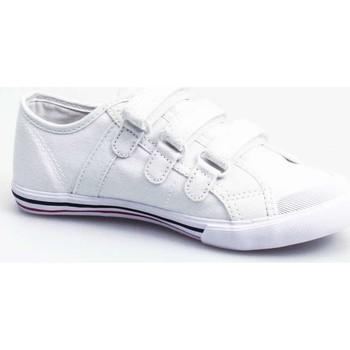 Chaussures Garçon Baskets basses Le Coq Sportif 1210459 Sneakers Garçon Blanc Blanc