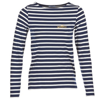 Vêtements Femme T-shirts manches longues Betty London FLIGEME Marine / Blanc