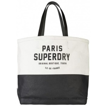 Sacs Femme Cabas / Sacs shopping Superdry Sac Fourre-tout  Two Tone Tote Natural Cream