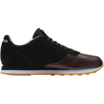 Chaussures Homme Baskets basses Reebok Classic Classic Leather LS Noir