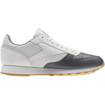 Chaussures Homme Baskets basses Reebok Classic Classic Leather LS Blanc / Gris
