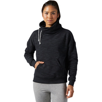 Vêtements Femme Sweats Reebok Sport Sweat Elements Marble Cowl Neck Noir
