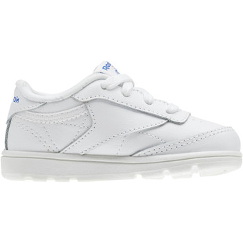 Chaussures Enfant Baskets basses Reebok Classic Club C - Infant & Toddler Blanc / Bleu