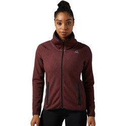 Vêtements Femme Polaires Reebok Sport Veste  Quik Cotton Brown