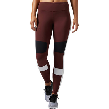 Vêtements Femme Leggings Reebok Sport Legging Lux Color Block Brown