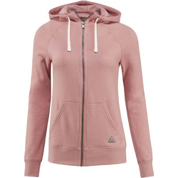 Vêtements Femme Sweats Reebok Sport Veste à capuche molletonnée Elements Full Zip Pink