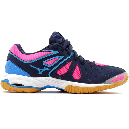 Chaussures Femme Sport Indoor Mizuno Wave Phantom Rose