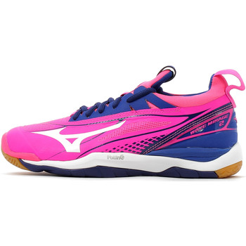 Chaussures Femme Sport Indoor Mizuno Wave Mirage 2 Rose