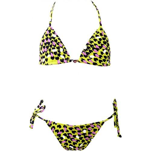 Vêtements Fille Maillots de bain 2 pièces Princesse Ilou Maillot de bain 2 pièces imprimé léopard Multicolore