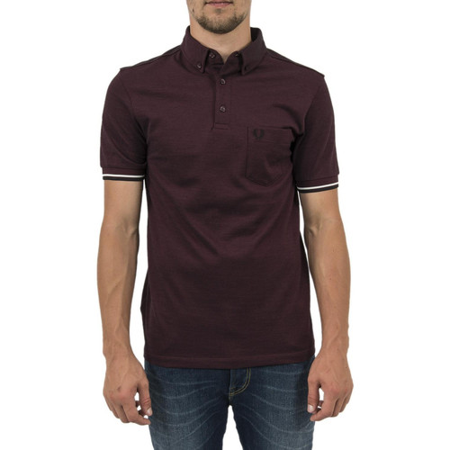 Vêtements Homme Polos manches courtes Fred Perry polos  m2584 rouge rouge