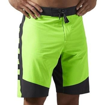 Vêtements Homme Shorts / Bermudas Reebok Sport OS Cordura 1SH Noir, Vert clair