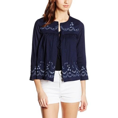 Vêtements Femme Gilets / Cardigans Vero Moda STACEY Bleu Foncé