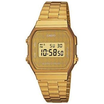 Montres & Bijoux Montres Digitales Casio Montre  Collection - Gold Jaune