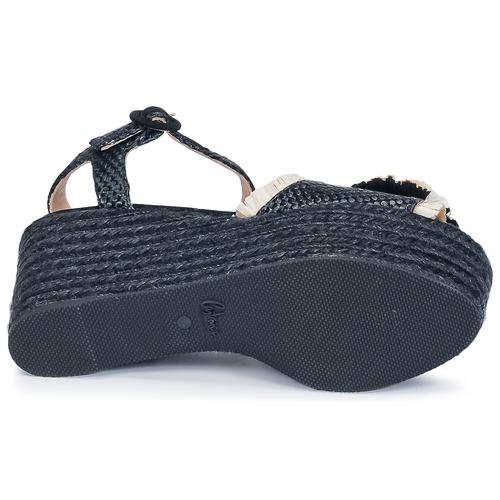 Femme Nu pieds Noir Efedra Castaner Et Sandales P8kNwZnOX0