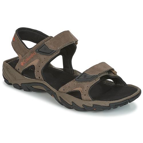 Chaussures Homme Sandales sport Columbia SANTIAM 2 STRAP Marron