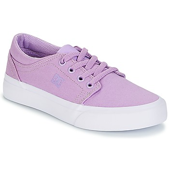 Chaussures Fille Baskets basses DC Shoes TRASE TX G SHOE 537 Violet