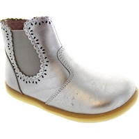 Chaussures Fille Bottines Bobux I-Walk Lucky Lacey Or