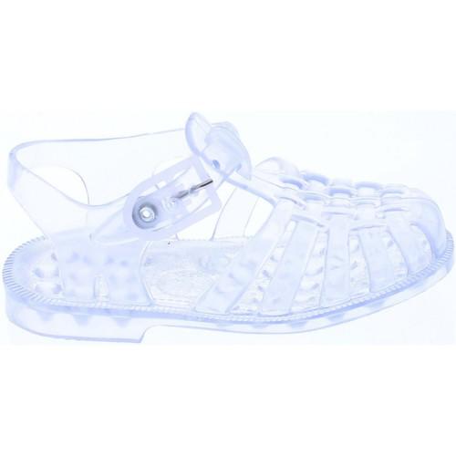 Chaussures Enfant Chaussures aquatiques Méduse Sandales en plastique enfant transparent Blanc