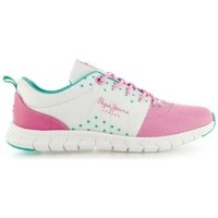 Chaussures Femme Baskets basses Pepe jeans Baskets Coven Seal roses rose