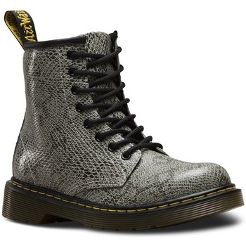 Chaussures Fille Bottines Dr Martens Bottines Delaney Viper grises Gris