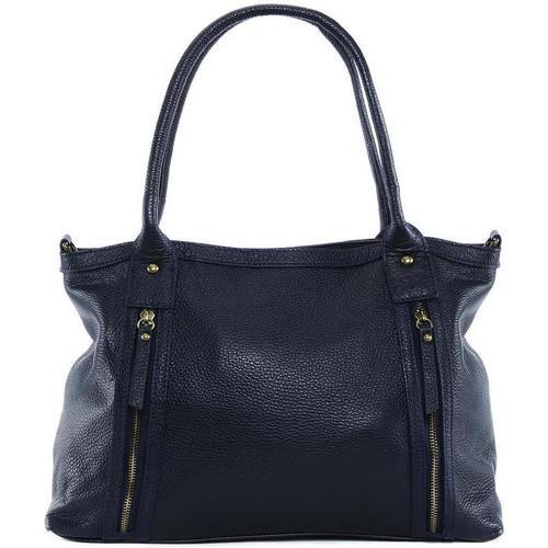 Sacs Femme Sacs porté épaule Oh My Bag Sac à Main cuir femme - Modèle Rangoon bleu foncé BLEU FONCE