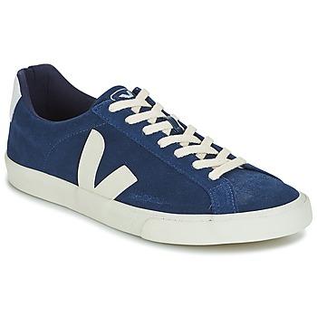 Chaussures Homme Baskets basses Veja ESPLAR LOW LOGO Bleu