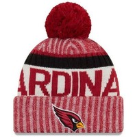 Accessoires textile Bonnets New-Era Bonnet pompon Arizona Cardinals SPORT KNIT Rouge