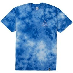 Vêtements Homme T-shirts manches courtes Huf T-shirt  Washed Triple Triangle Tee Bleu Bleu