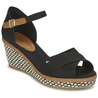 Chaussures Femme Sandales et Nu-pieds Tommy Hilfiger ICONIC ELBA SANDAL BASIC Noir