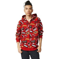 Vêtements Homme Pulls adidas Originals Jams Hoody Rouge