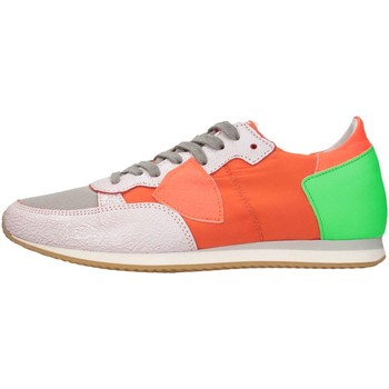 Chaussures Enfant Baskets basses Philippe Model Paris TRL0-R05C Basket Bébé Orange Orange
