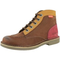 Chaussures Femme Boots Kickers 393438 marron
