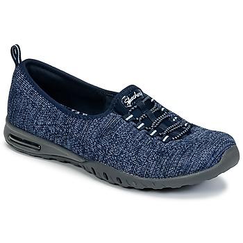 Chaussures Femme Baskets basses Skechers EASY-AIR IN-MY-DREAMS Bleu Marine