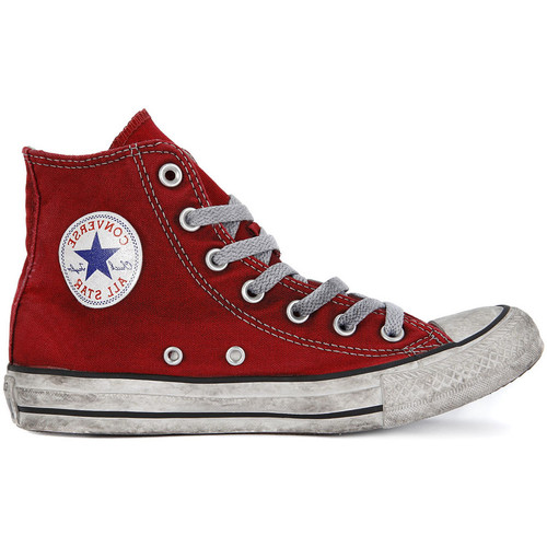 Chaussures Baskets montantes Converse ALL STAR HI  CANVAS LTD RED Rosso