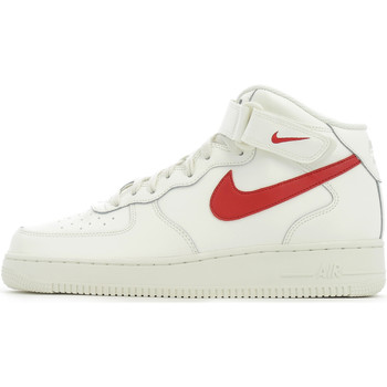 Chaussures Homme Baskets montantes Nike Air Force 1 Mid 07 Sail / University Red