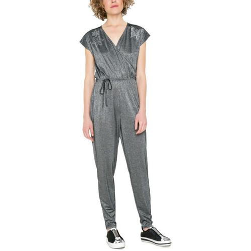 Vêtements Femme Combinaisons / Salopettes Desigual Combinaison Iréne Gris 17WWPK02 Gris
