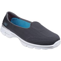 Chaussures Femme Slips on Skechers Go Walk 3 Insight Grey