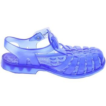 Chaussures aquatiques Méduse Sandales en plastique bleu translucide