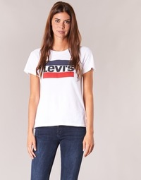 Vêtements Femme T-shirts manches courtes Levi's THE PERFECT TEE Blanc