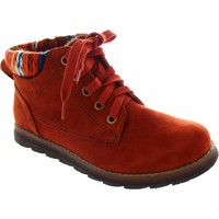 Chaussures Femme Bottines Lotus Sequoia rouge