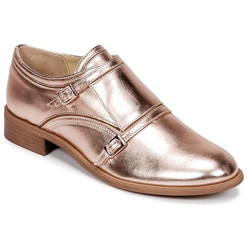 Chaussures Femme Derbies Mellow Yellow DOS Rose gold