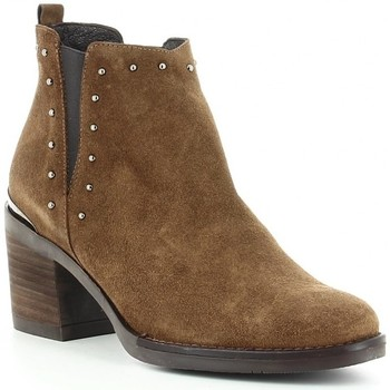Chaussures Femme Bottines Kissia 135 Marron