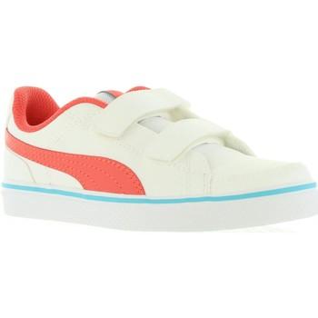 Chaussures Enfant Baskets basses Puma 362948 COURT Blanco